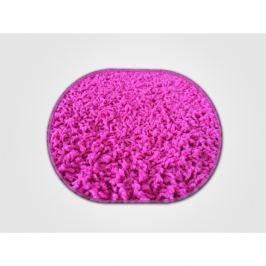 Vopi koberce Kusový koberec Color shaggy růžový ovál,   57x120 cm Růžová