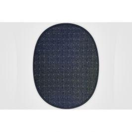 Vopi koberce Kusový koberec Udinese antracit ovál,   400x500 Černá