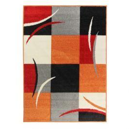 Oriental Weavers koberce Kusový koberec Portland 3064 Z23 K,   200x285 cm Oranžová, Šedá