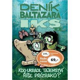Deník Baltazara Iks II.: Kdo ukradl tajemství říše Přízraků?