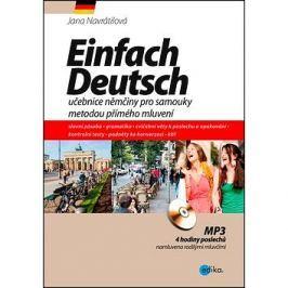 Einfach Deutsch: učebnice němčiny pro samouky metodou přímého mluvení Němčina
