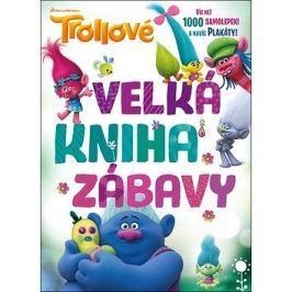 Trollové Velká kniha zábavy: Víc než 1000 samolepek a navíc plakáty! Bystrá hlava