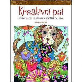 Kreativní psi: Vybarvujte, relaxujte a potěšte dárkem Relaxační omalovánky