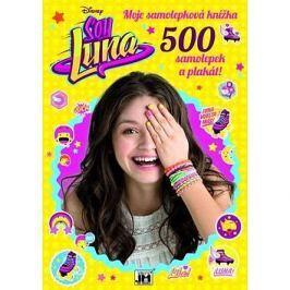 Soy Luna Moje samolepková knížka: 500 samolepek a plakát! Šikovné ruce