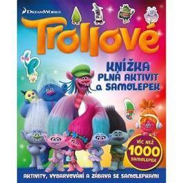 Trollové Knížka plná aktivit a samolepek: Víc než 1000 samolepek Bystrá hlava