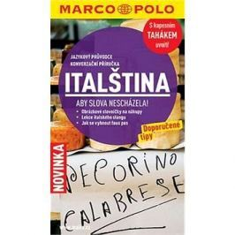 Jazykový průvodce a konverzace - italština: S kapesním tahákem uvnitř