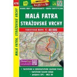 Malá Fatra, Strážovské vrchy 1:40 000: 478