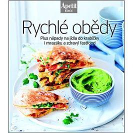 Rychlé obědy: Plus nápady na jídla do krabičky i mrazáku a zdravý fastfood