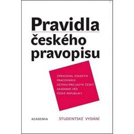 Pravidla českého pravopisu: Studentské vydání