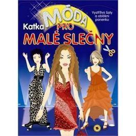 Móda pro malé slečny Katka: Vystřihni šaty a oblékni panenku