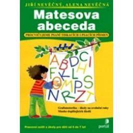Matesova abeceda: Procvičujeme psaní tiskacích a psacích písmen