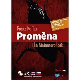 Proměna The Metamorphosis: Dvojjazyčná kniha, MP3