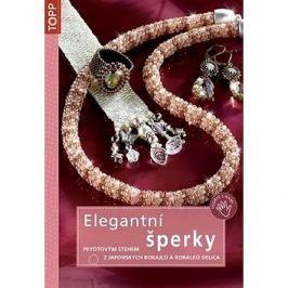 Elegantní šperky: Peyotovým stehem z japonských rokajlů a korálků Delica