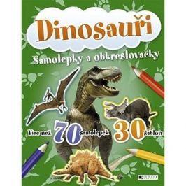 Dinosauři: Samolepky a obkreslovačly