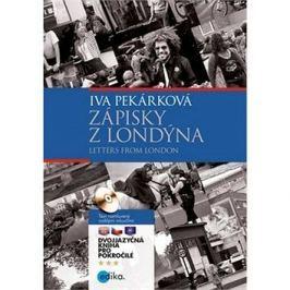 Zápisky z Londýna/ Letters from London: Dvojjazyčná kniha pro pokročilé + CD