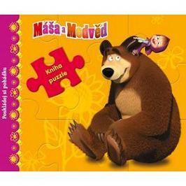 Máša a Medvěd Kniha puzzle: Poskládej si pohádku