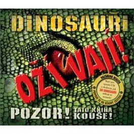 Dinosauři ožívají! 3D: POZOR! Tato kniha kouše