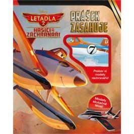 Letadla 2 Hasiči a záchranáři Prášek zasahuje: Postav si odely záchranářů!