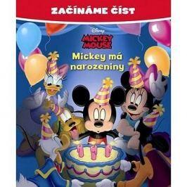 Začínáme číst Mickey má narozeniny