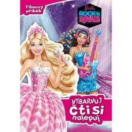 Barbie Rock ´n Royals Vybarvuj čti si nalepuj: Filmový příběh