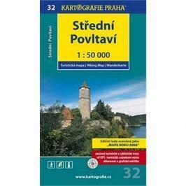 Střední Povltaví 1:50 000: turistická mapa