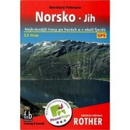 Turistický průvodce Rother Norsko: Nejkrásnější trasy po horách a v okolí fjordů
