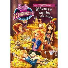 Barbie Sestřičky a psí dobrodružství Bláznivá honba za pokladem: Hádanky, hry, samolepky
