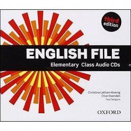 English File Elementary Class Audio CDs: Third edition