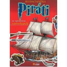 Hledací knížka Piráti: se spoustou samolepek