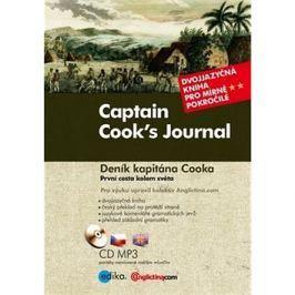 Captain Cook's Journal Deník kapitána Cooka: Dvojjazyčná kniha pro mírně pokročilé + CD mp3