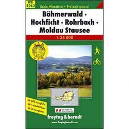 5262 Böhmerwald-Hochficht-Rohrbach 1:35 000: Turistická mapa