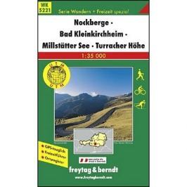 5221 Nockberge Bad Kleinkirchheim 1:35 000: Turistická mapa