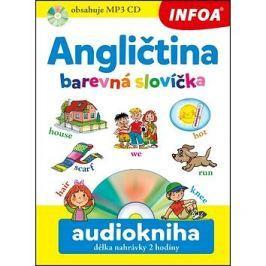 Angličtina barevná slovíčka Audiokniha délka nahrávky 2 hodiny
