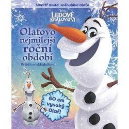 Ledové království Olafovo nejmilejší roční období: Příběh se skládačkou