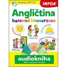 Angličtina barevná konverzace Audiokniha délka nahrávky 2 hodiny