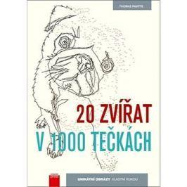 """20 zvířat v 1000 tečkách: Obrazy zvířat jednou čarou"""""""