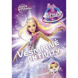 Barbie ve hvězdách Vesmírné aktivity: Uvnitř samolepky