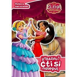 Elena z Avaloru Vybarvuj, čti si, nalepuj: Oslava narozenin