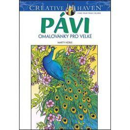 Pávi omalovánky pro velké: Creative Haven