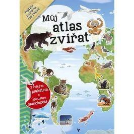 Můj atlas zvířat: s velkým plakátem a spoustou samolepek