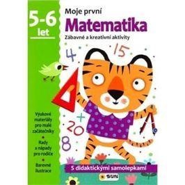 Moje první Matematika 5-6 let: Zábavné a kreativní úkoly a aktivity