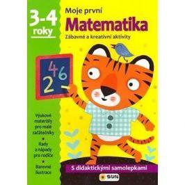 Moje první Matematika 3-4 roky: Zábavné a kreativní úkoly a aktivity