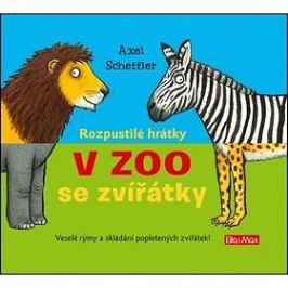 Rozpustilé hrátky V Zoo se zvířátky: Veslé rýmy a skládání popletených zvířátek!