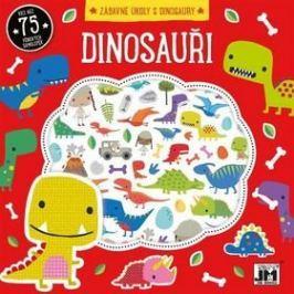 Dinosauři Zábavné úkoly s dinosaury: Více než 75 pěnových samolepek