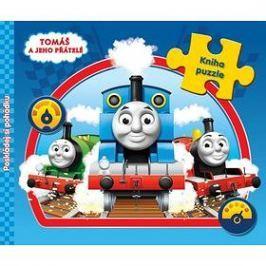 Mašinka Tomáš kniha s puzzle