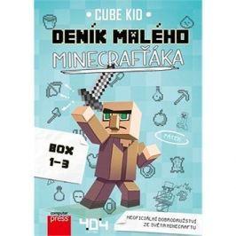Deník malého Minecrafťáka BOX 1-3