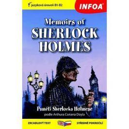 Paměti Sherlocka Holmese/Memoirs of Sherlock Holmes: Zrcadlový text, středně pokročilí
