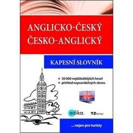 Anglicko-český česko-anglický kapesní slovník: nejen pro turisty