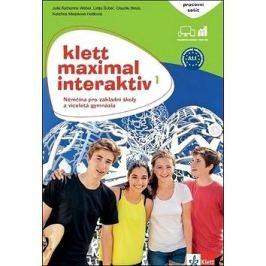 Klett Maximal Interaktiv 1 Pracovní sešit barevný: Němčina pro základní školy a víceletá gymnázia