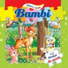Bambi Zábava s puzzle: Obsahuje 6x puzzle
